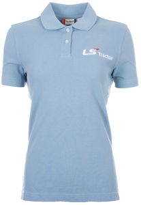 Ladies Light Blue Marion Cotton Polo