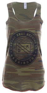 Women's Diamond Knot Racerback Tank