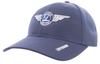 Alaska Airlines Cap Ahead Mesh Wing Cap Fitted image 3