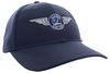 Alaska Airlines Cap Ahead Mesh Wing Cap Fitted image 2