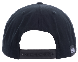 5-Panel Cotton Twill Pinch Front Cap – Embroidered