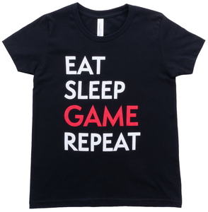 Youth Eat Sleep Game Tee