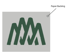 Custom Pro Cut Vinyl Decal- Double M Logo