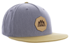 5-Panel Cotton Twill Pinch Front Cap – Patch image 2
