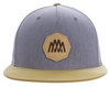 5-Panel Cotton Twill Pinch Front Cap – Patch image 1