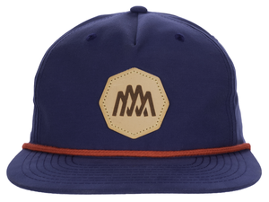 Grandpa Structured Pinch Front Snapback