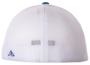 Youth Jeb Burton #8 Blue/White Fitted Cap