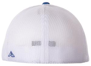 Jeb Burton #8 Blue/White Fitted Cap
