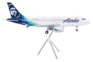 Alaska Airlines Model 1/200 scale Gemini A319 Standard Livery