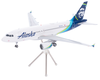 Alaska Airlines Model 1/200 scale Gemini A319 Standard Livery image 3