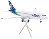 Alaska Airlines Model 1/200 scale Gemini A319 Standard Livery image 2