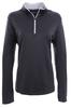 Alaska Airlines Sweatshirt Ladies Nike Golf Dri-FIT Stretch 1/2 Zip Cover-Up image 1