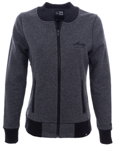 Women's New Era Ladies French Terry Baseball Full-Zip