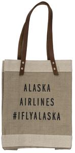 """Alaska Airlines Apolis Tote Bag - 15x12"""""""