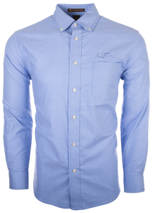 Men's Long Sleeve Oxford with Stain Release