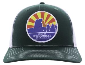 Circle Sunburst Patch Hat