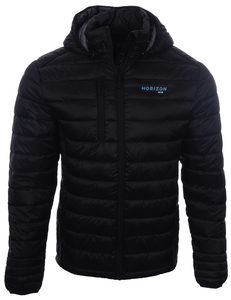 Men's Cutter and Buck Horizon Hudson Jacket - MQO00060BLK