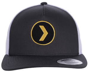 Retro Trucker Cap w/ Circle Logo