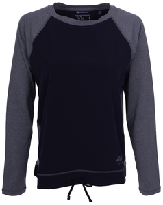 Alaska Airlines Cutter and Buck Response Hybrid Ladies L/S Top