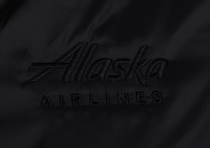 Alaska Airlines Cutter and Buck Ladies L/S Stealth Full Zip