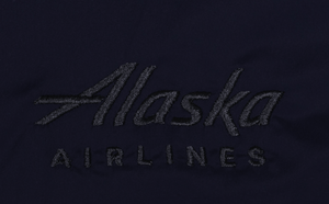 Alaska Airlines Jacket Mens Cutter and Buck Windbreaker