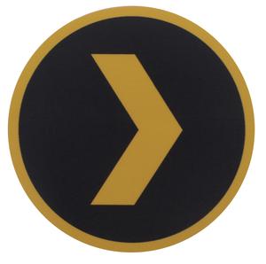 """Plex 3"""" Circle Sticker"""