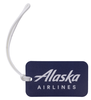 Alaska Airlines Luggage Tag Navy image 1