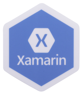 "2""H x 1.73""W Xamarin Sticker -  General Inventory"