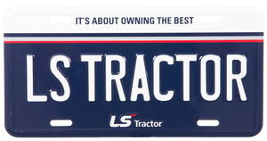 LS Tractor License Plate