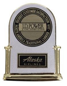 Alaska Airlines Pin JDP12