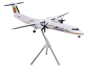 Alaska Airlines Model 1/200 scale Gemini Q400 Horizon Air Retro (Meatball) Livery