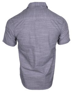 Unisex Burnside Textured Solid Short Sleeve Shirt