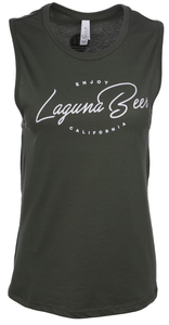Women's Enjoy Laguna Beer Muscle Tank