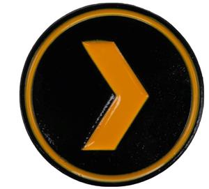 Plex Enamel Pin
