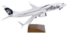 Alaska Airlines Model 1/100 scale Skymarks Supreme 737-800 Employee Powered image 3