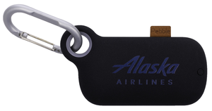 Alaska Airlines Charger Pebble