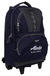 Alaska Airlines Genesis Rolling Backpack