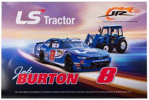 Jeb Burton & LS Tractor Poster