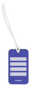 Alaska Airlines Luggage Tag Tail