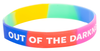 Multi-Color Out of the Darkness Wristband (Pack of 10) image 2
