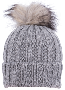Alaska Airlines Knit Beanie with Pom