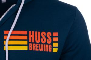 Huss Brewing Zip Hoodie