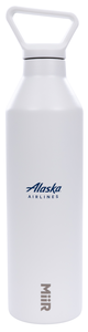 "Alaska Airlines ""Fill Before You Fly"" Water Bottle"