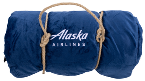 Alaska Airlines Sherpa Blanket