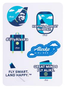 """Having a Great Air 5 x 7"""" KissCut Sticker Sheet"""