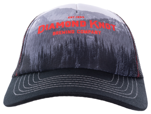 Diamond Knot Tree Foam Trucker Hat