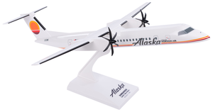 Alaska Airlines Model 1/100 scale Skymarks Q400 Horizon Air Retro (Meatball) Livery