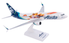 Alaska Airlines Model 1/130 scale Skymarks 737-800 Captain Marvel image 5