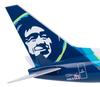 Alaska Airlines Model 1/130 scale Skymarks 737-800 Captain Marvel image 3