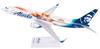 Alaska Airlines Model 1/130 scale Skymarks 737-800 Captain Marvel image 2